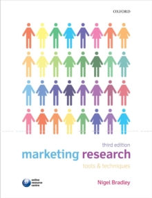 Marketing Research: Tools and Techniques, Paperback Book