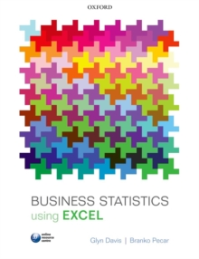 Business Statistics using Excel, Paperback / softback Book