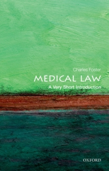 Medical Law: A Very Short Introduction, Paperback Book