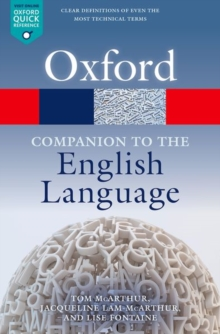 Oxford Companion to the English Language, Paperback Book