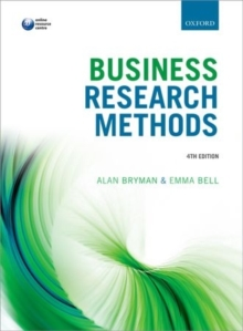 Business Research Methods, Paperback / softback Book