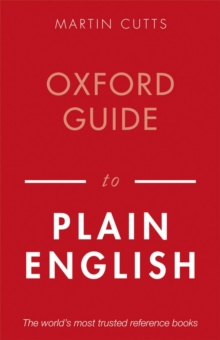Oxford Guide to Plain English, Paperback / softback Book