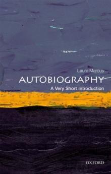 Autobiography: A Very Short Introduction, Paperback / softback Book