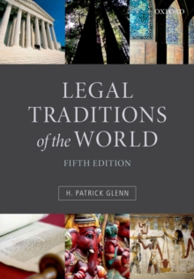 Legal Traditions of the World : Sustainable diversity in law, Paperback / softback Book