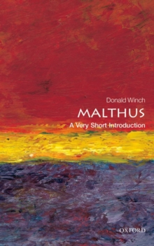Malthus: A Very Short Introduction, Paperback / softback Book