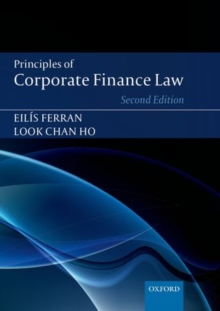Principles of Corporate Finance Law, Paperback Book