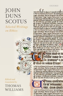 John Duns Scotus : Selected Writings on Ethics, Paperback Book