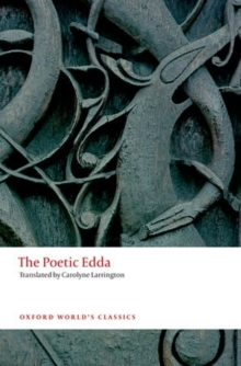 The Poetic Edda, Paperback Book