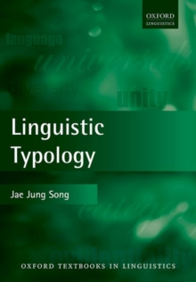 Linguistic Typology, Paperback Book
