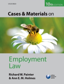 Cases and Materials on Employment Law, Paperback Book