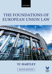 The Foundations of European Union Law, Paperback / softback Book