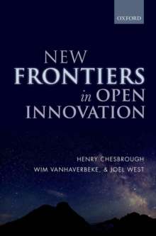 New Frontiers in Open Innovation, Hardback Book
