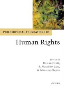 Philosophical Foundations of Human Rights, Paperback Book