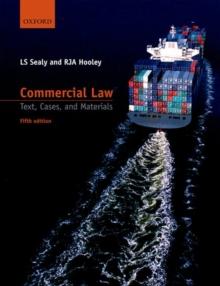 Commercial Law : Text, Cases, and Materials, Paperback Book