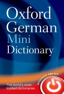 Oxford German Mini Dictionary, Paperback / softback Book