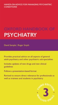 Oxford Handbook of Psychiatry, Part-work (fasciculo) Book