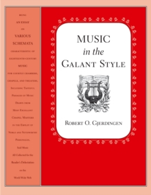 Music in the Galant Style, PDF eBook