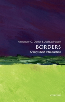 Borders: A Very Short Introduction, Paperback Book
