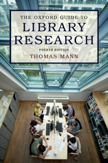 The Oxford Guide to Library Research, PDF eBook