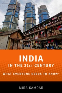 India in the 21st Century : What Everyone Needs to Know (R), Paperback / softback Book