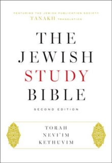 The Jewish Study Bible, Hardback Book