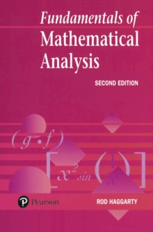 Fundamentals Of Mathematical Analysis, Paperback / softback Book