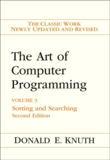 The Art of Computer Programming : Volume 3: Sorting and Searching, Hardback Book