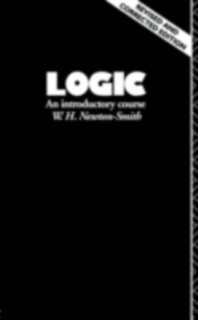 Logic : An Introductory Course, PDF eBook