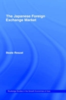 The Japanese Foreign Exchange Market, PDF eBook