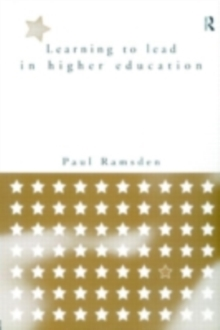 Learning to Lead in Higher Education, PDF eBook