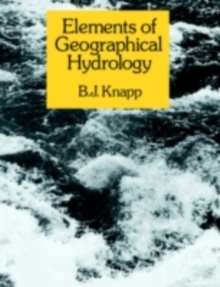 Elements of Geographical Hydrology, PDF eBook