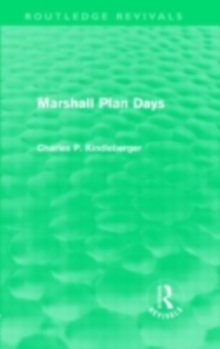 Marshall Plan Days (Routledge Revivals), PDF eBook