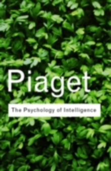 The Psychology of Intelligence, PDF eBook