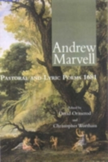 Andrew Marvell : Selected Poetry and Prose, PDF eBook