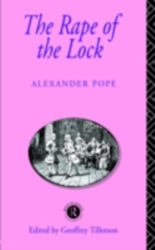 The Rape of the Lock, PDF eBook