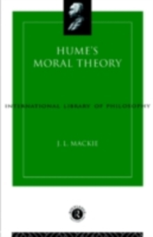 Hume's Moral Theory, PDF eBook