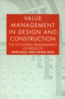 Value Management in Design and Construction, PDF eBook