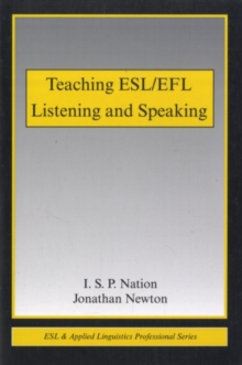 Teaching ESL/EFL Listening and Speaking, PDF eBook