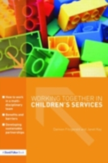 Working Together in Children's Services, PDF eBook