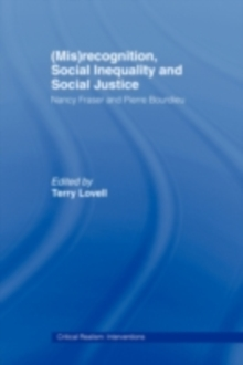 Mis Recognition Social Inequality And Social Justice border=