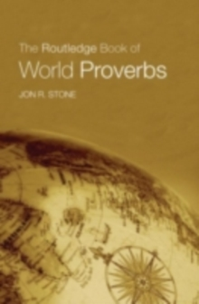 The Routledge Book of World Proverbs, PDF eBook