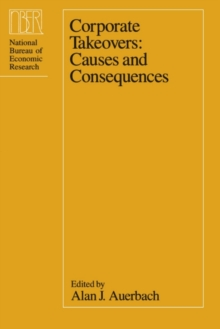 Corporate Takeovers : Causes and Consequences, PDF eBook