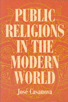 Public Religions in the Modern World, Paperback Book