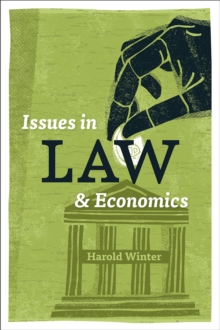 Issues in Law and Economics, Paperback Book