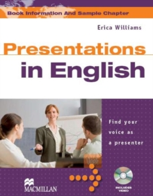 Presentations in English Student's Book & DVD Pack, Mixed media product Book