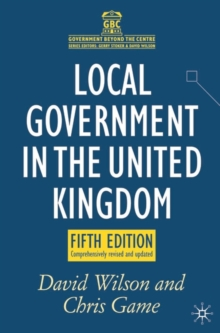 Local Government in the United Kingdom, Paperback Book