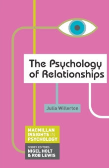 The Psychology of Relationships, Paperback / softback Book