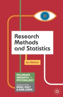 Research Methods and Statistics, Paperback Book