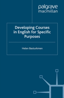 Developing Courses in English for Specific Purposes, PDF eBook