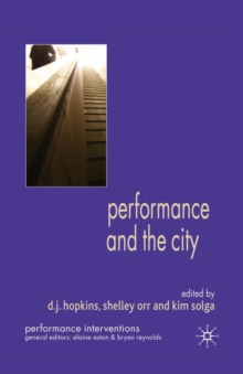 Performance and the City, PDF eBook